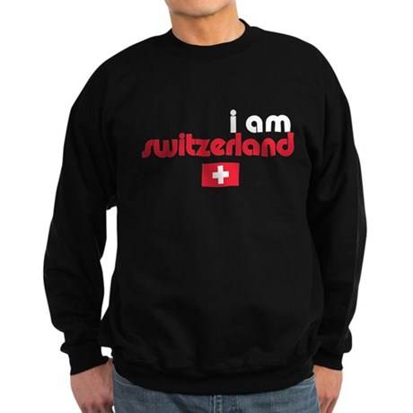 I Am Switzerland Sweatshirt (dark)