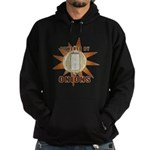 Powered by Onions Hoodie (dark)