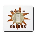 Powered by Onions Mousepad