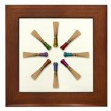 Bassoon Reed Framed Tile