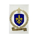 ROBINEAU Family Crest Rectangle Magnet