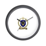 ROBINEAU Family Crest Wall Clock