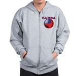 Samoa football team Zip Hoodie