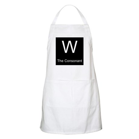 W The Consonant BBQ Apron