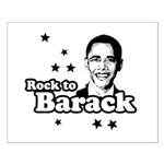 Rock to Barack Small Poster