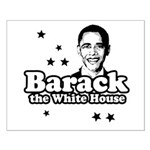 Barack the White House Small Poster