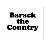 Barack the country Small Poster