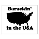 Barackin' in the USA Small Poster