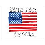 Vote for Obama Small Poster