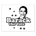Barack the vote Small Poster