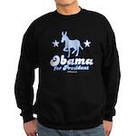 Obama for President Sweatshirt (dark)