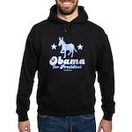 Obama for President Hoodie (dark)
