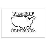 Barackin' in the USA Large Poster