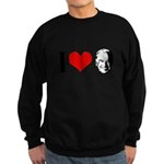 I heart Joe Biden Sweatshirt (dark)