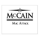 McCain / Mac Attack Small Poster