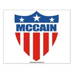 MCCAIN Small Poster