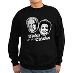 Dicks before Chicks Sweatshirt (dark)