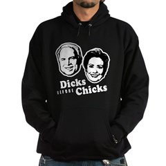 Dicks before Chicks Hoodie (dark)