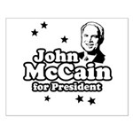 John McCain for president Small Poster