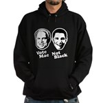 Vote Mac Not Black Hoodie (dark)