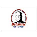 McCainiac 2008 Large Poster