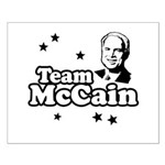 Team McCain Small Poster