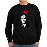 I Love McCain Sweatshirt (dark)