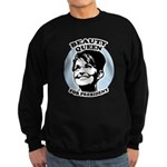 Beauty Queen for President Sweatshirt (dark)
