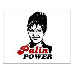 Palin Power Small Poster