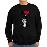 I Love Sarah Palin Sweatshirt (dark)