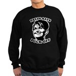 Palin says Puck Off Sweatshirt (dark)