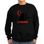 Al Qaida for Obama Sweatshirt (dark)