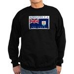 Anguilla Flag Sweatshirt (dark)
