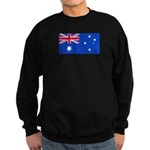 Australia Blank Flag Sweatshirt (dark)