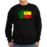 Benin Flag Sweatshirt (dark)