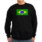 Brazil Blank Flag Sweatshirt (dark)
