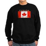 Canada Canadian Flag Sweatshirt (dark)