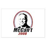 McCan't 2008 Large Poster