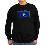 Guam Guaminian Flag Sweatshirt (dark)