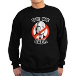 Anti-McCain: Take Mac Back Sweatshirt (dark)