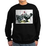Dark Brahma Chickens Sweatshirt (dark)