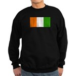 Ivory Coast Blank Flag Sweatshirt (dark)