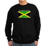 Jamaica Jamaican Flag Sweatshirt (dark)