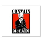 Contain McCain Small Poster