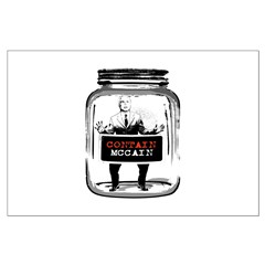 Contain McCain (in a jar) Posters