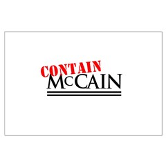 Contain McCain Posters