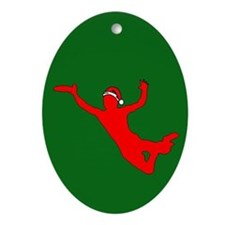 Ultimate Christmas Oval Ornament
