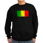 Mali Malian Flag Sweatshirt (dark)