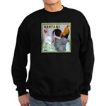Bantam Chickens Sweatshirt (dark)