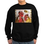 Sicilian Buttercup Chickens Sweatshirt (dark)